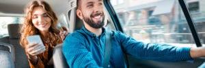 Uber employee benefitting from the gig economy