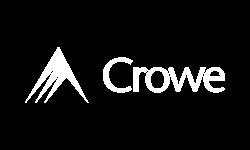 Crowe Logo - White