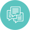 three-chat-bubble-icon